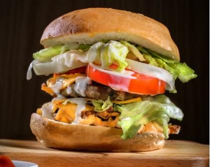 Vegie burger z Tofu